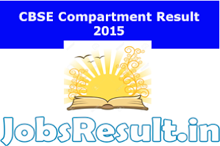 CBSE Compartment Result 2015