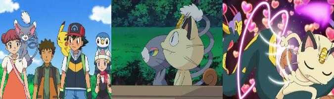 Pokemonlatino 13x21 por el amor de meowth for Koi no mega lover