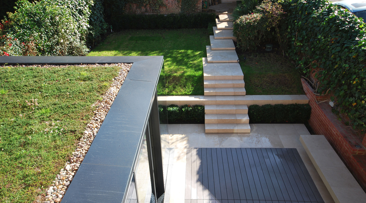 Terrace house extension london lbmv architects angela for Garden house extension