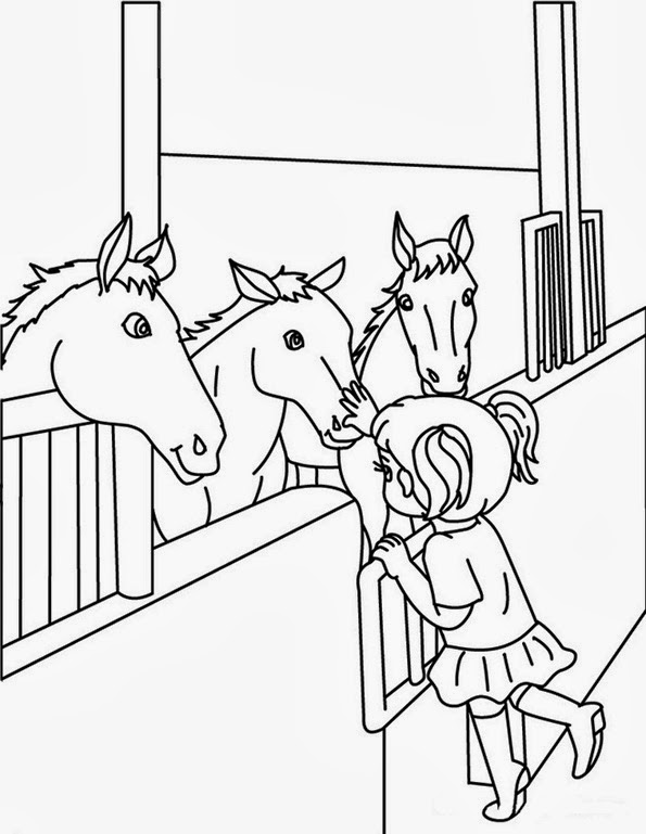 Malvorlagen Filly Pferde gratis und kostenlose Ausmalbilder