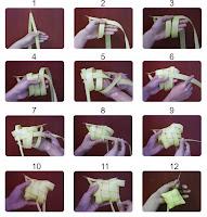Resep Cara Membuat Menganyam Ketupat Lebaran Mudah dan Tips Kipat