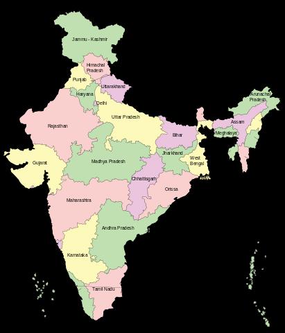 Tabla de índice glucémico- Asia India