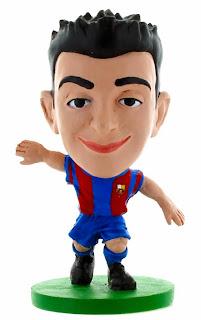 Image: Soccerstarz Barca Toon Xavi Home Kit