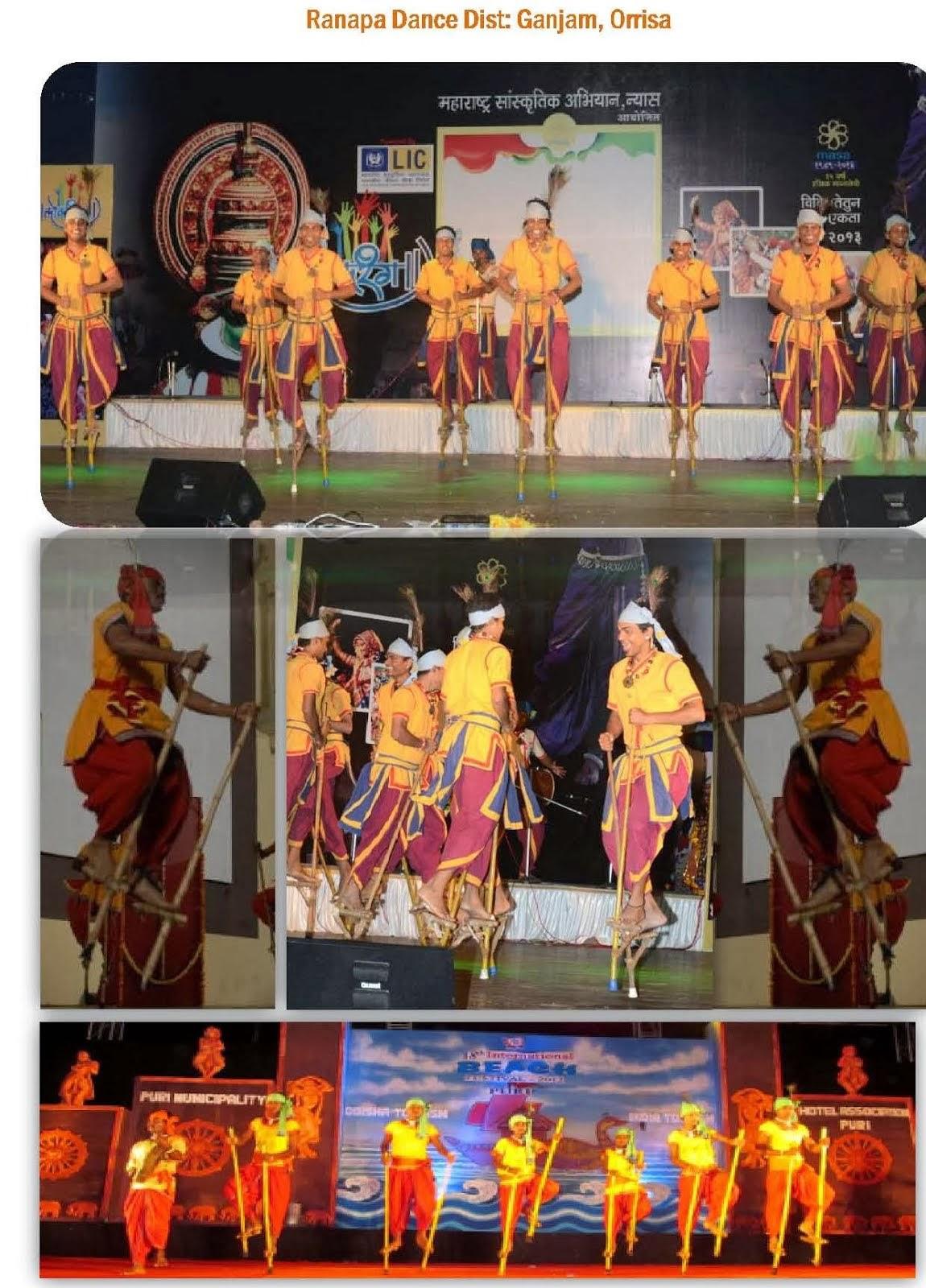 Ranapa Folk dance, Ganjama-Orriasa