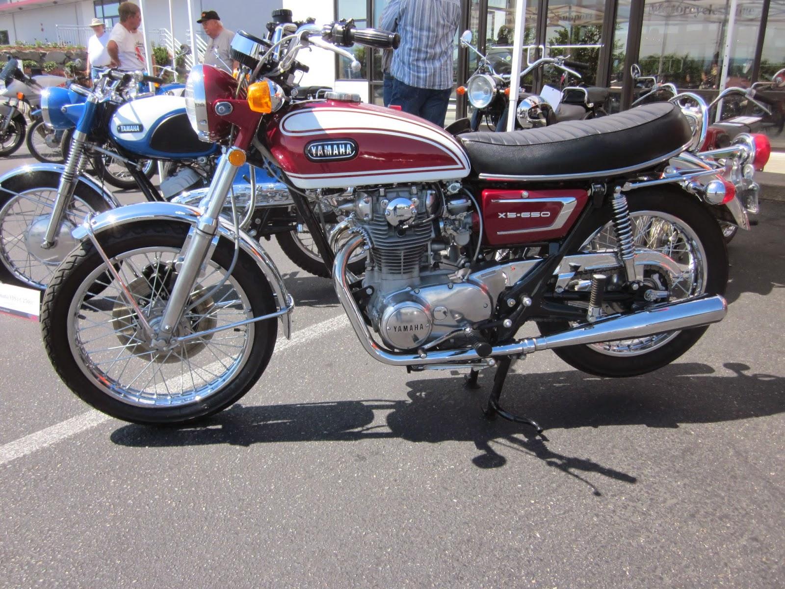 Oldmotodude yamaha xs2 650 on display at the 2014 vjmc for Hinshaw honda auburn wa