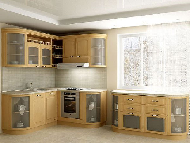 Furniture kitchen set for Kitchen modeler