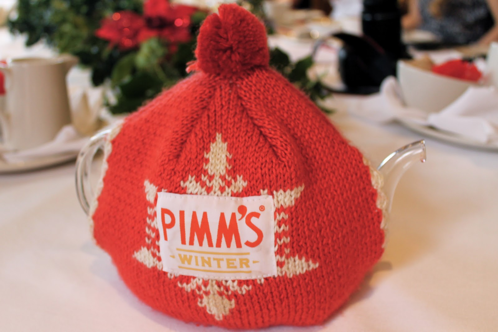 pimms winter tea cozy