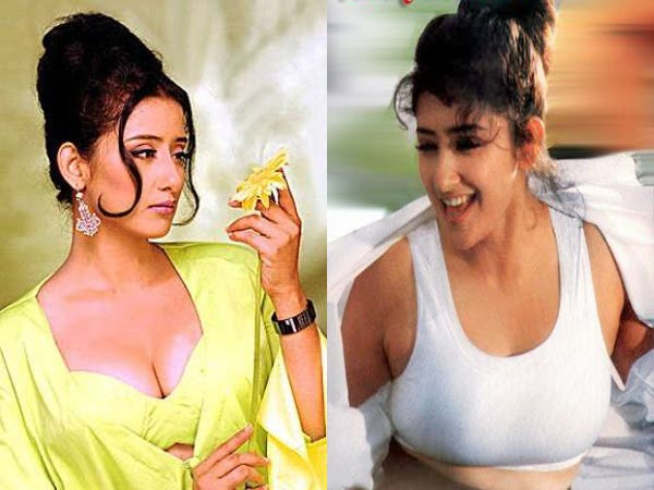 Manisha koirala bollywood actress hot nude real sex leaked 5