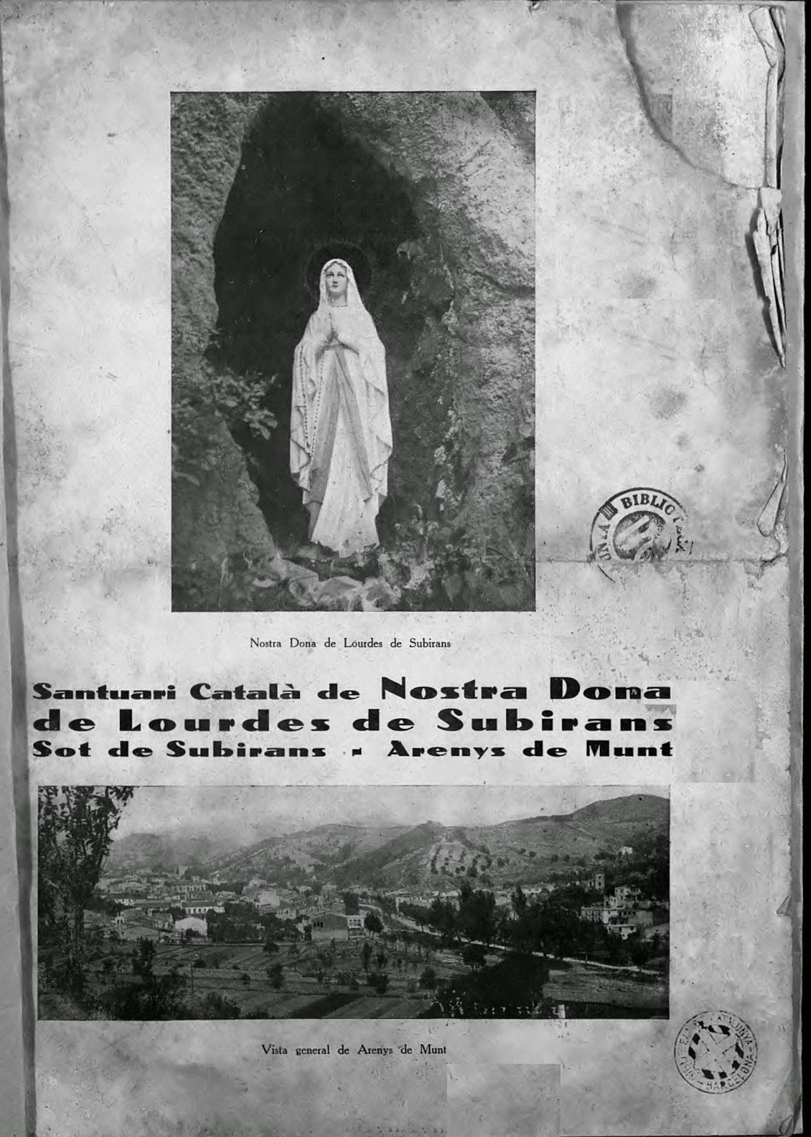Santuari de Lourdes de Sobirans