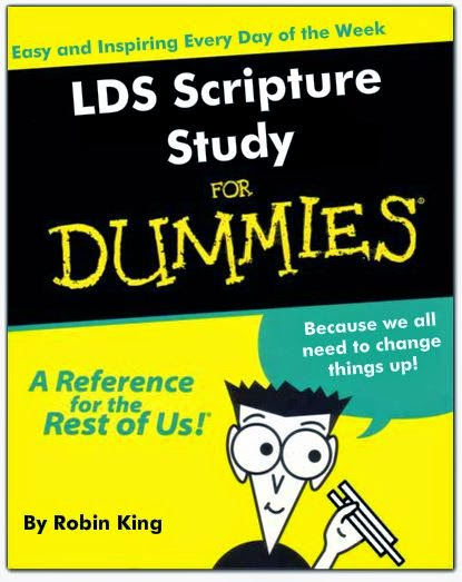 cover of pretend scripture study for dummies