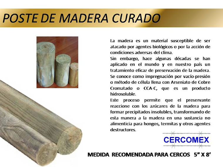 Poste Madera