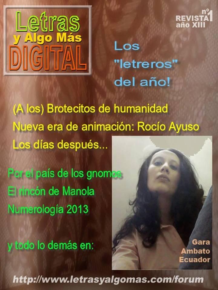 Revista Digital Nº 1 Enero de 2013  Portada+rev