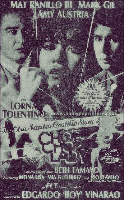 The Elsa Castillo Story, Lorna Tolentino, Chop-Chop Lady, Edgardo Vinarao