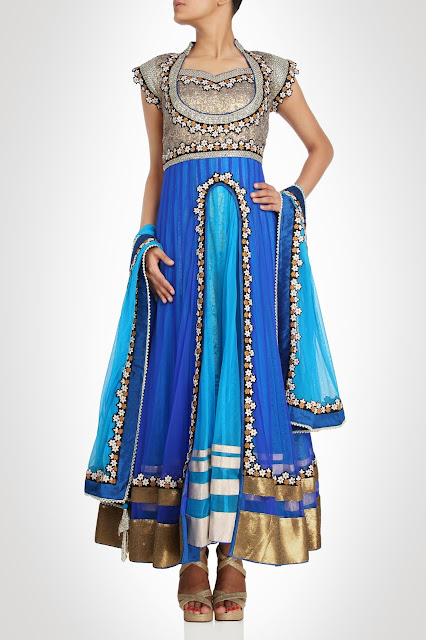 Kiran&ampShruti Akshindianfrockstyledresses 6  - Indian Frock Style Dresses Collection