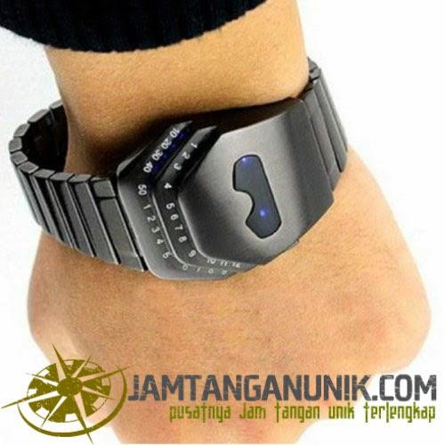 led watch cobra jam tangan unik berbentuk kepala ular kobra