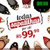 Liquida Santa Lolla: Todas as sapatilhas por R$ 99,90