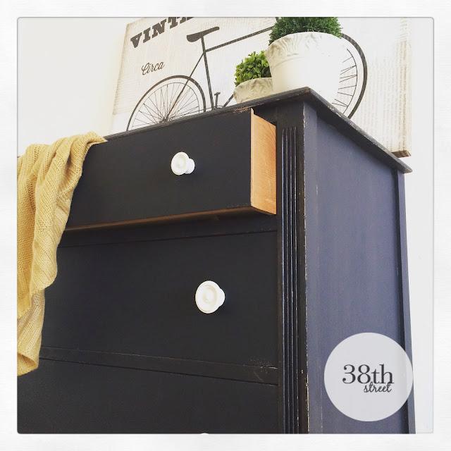 painting a dresser, refinishing a dresser, furniture makeover, dresser makeover, ofmp, diy, milk paint