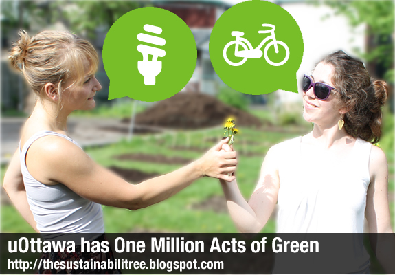 two women are sharing a flower while green speech bubbles are coming our of their mouths