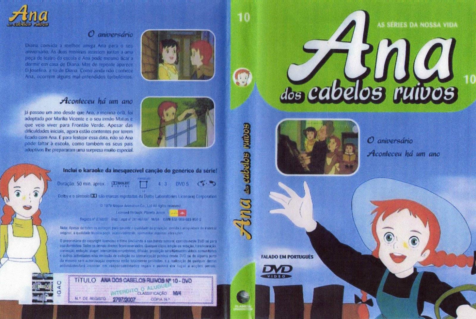 Ana dos Cabelos Ruivos Vol.1 A 25  PT-PT Ana+dos+Cabelos+Ruivos+Vol.10-capa