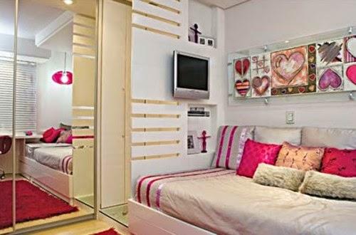Cuartos juveniles para espacios peque os dormitorios - Dormitorio pequeno juvenil ...