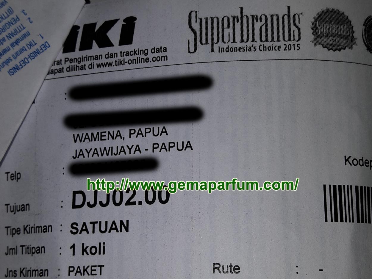 Pengiriman Parfum ke Wamena