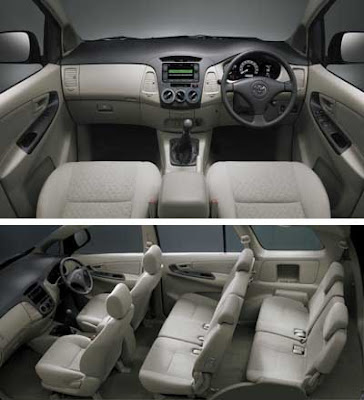 Toyota kijang innova review otomotif for Innova interior 8 seater