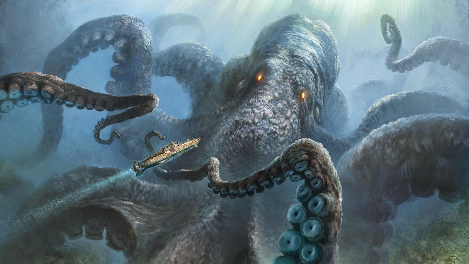 Mitologi Kraken di Norwegia dan Islandia