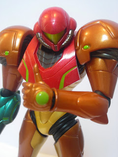 Samus gives the thumbs up