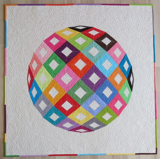English Paper Piecing Quilt Pattern