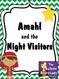 Amahl and the Night Visitors by The Bulletin Board Lady