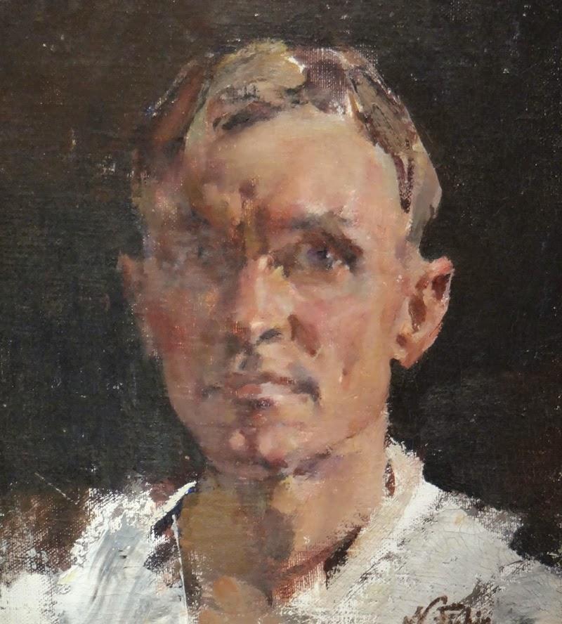 Nicolai Fechin Self-Portrait
