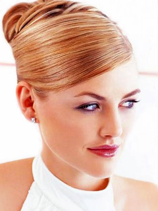 Wedding Hairstyles High And Side Bun Updos Hairstyle For Wedding Day