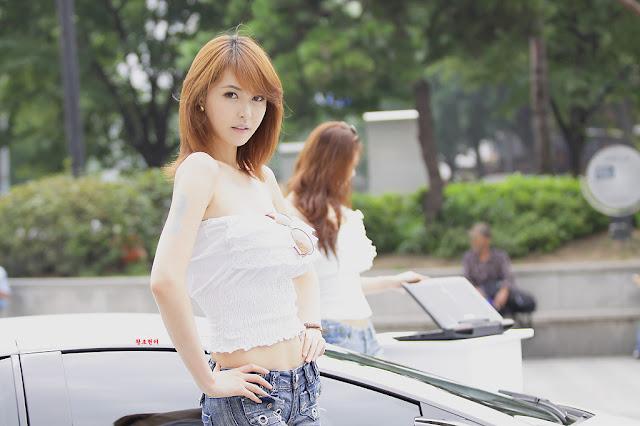 Model Kang Yui  - new photos