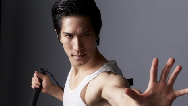Cole Horibe as Bruce Lee in off-Broadway dance theater Kung Fu