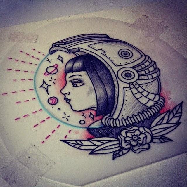 astronaut tattoo tumblr - photo #11