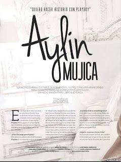 FOTOS: Aylin Mujica revista playboy México Marzo 2013
