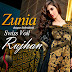 Zunia Designer Embroidered Collection 2015 Swiss Voil-Vol-2 by Rujhan