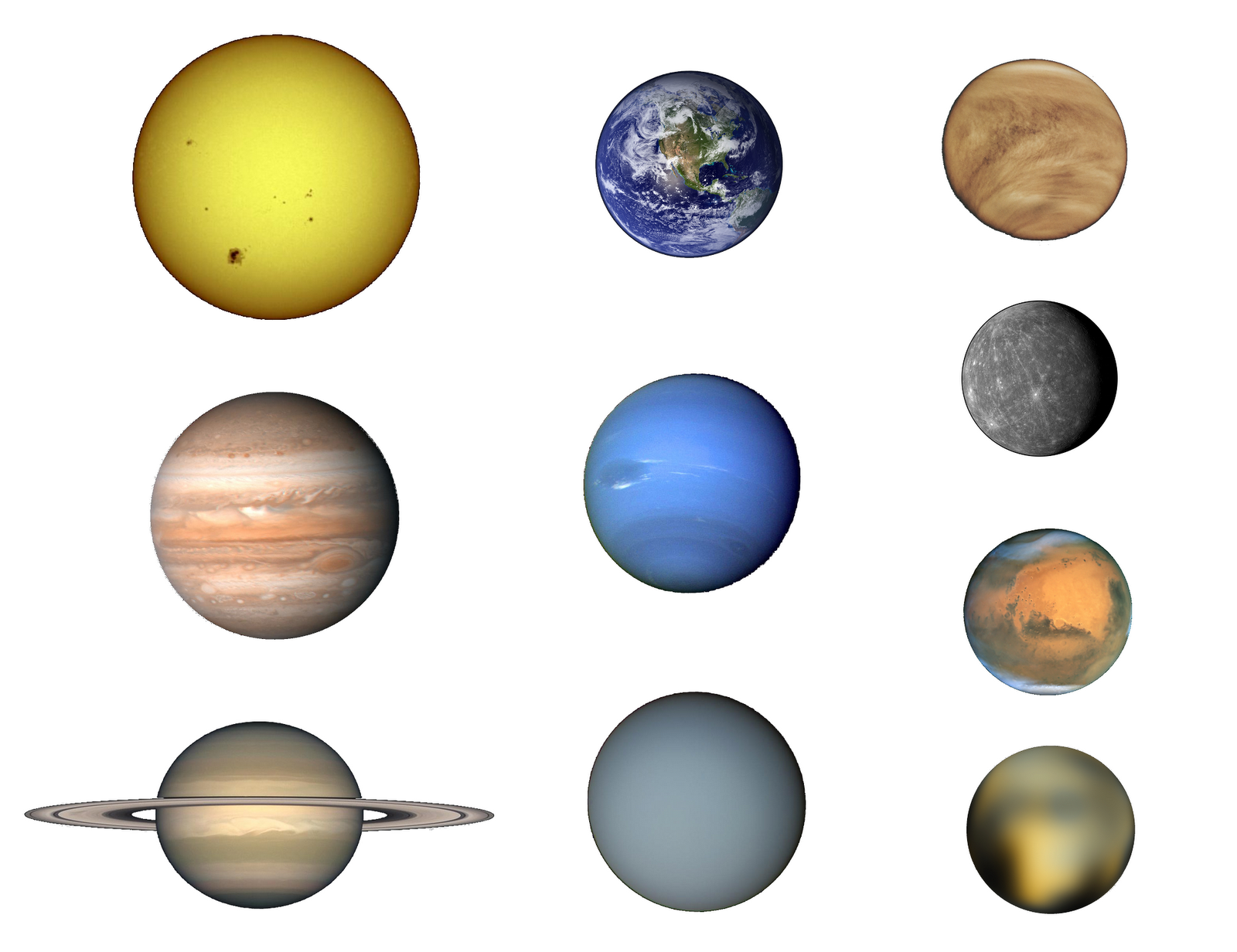 nasa solar system printables - photo #29