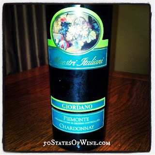 Giordano Wines Piemonte Maestri Italiani Chardonnay