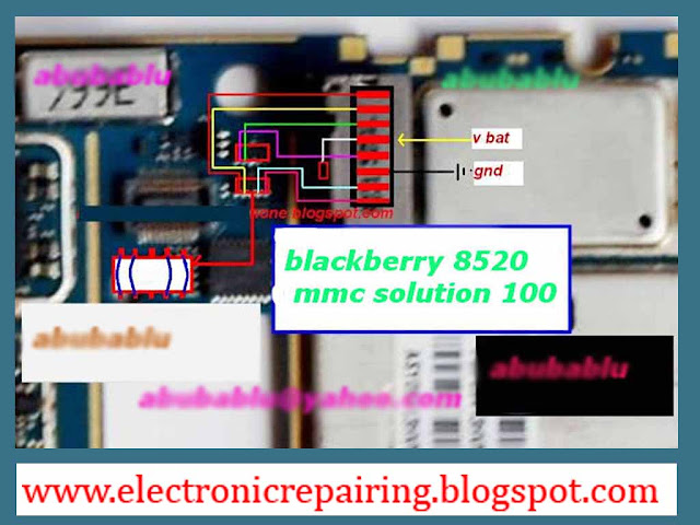 Blackberry 8520 memory card solution