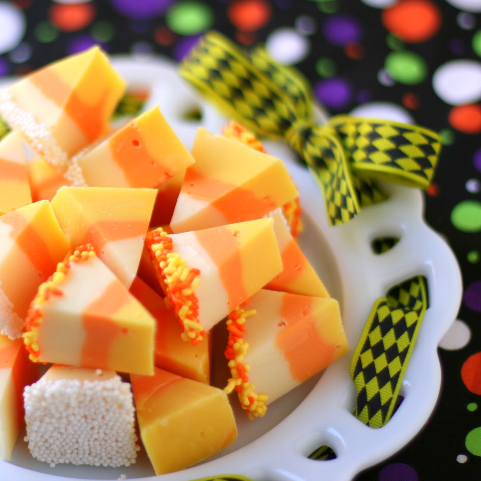 Thread: White Chocolate Candy Corn Fudge