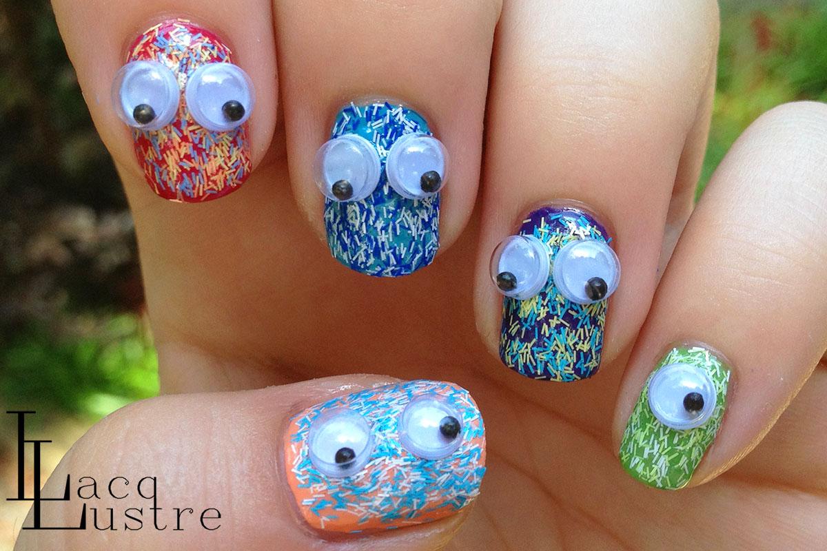 31 fantastic Fuzzy Nail Art – ledufa.com