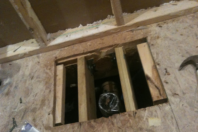Bathroom Floor Joist Spacing : The house is going to be great bath demo and construction