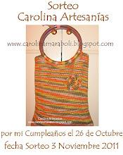 Carolina Artesanias Sortea este lindo bolso