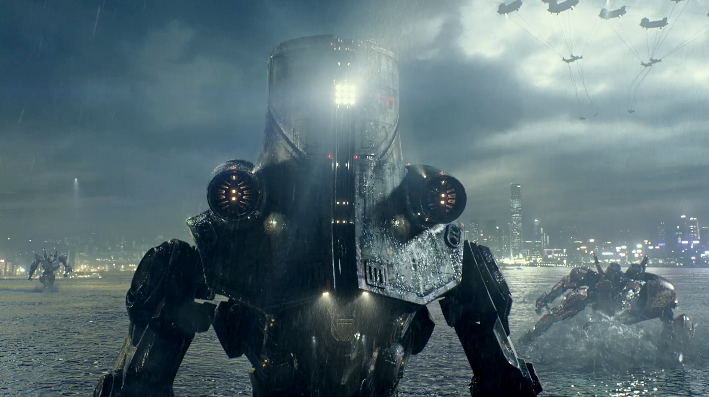 Collected Nonsense: Review: Pacific Rim (film) Pacific Rim Cherno Alpha Anime