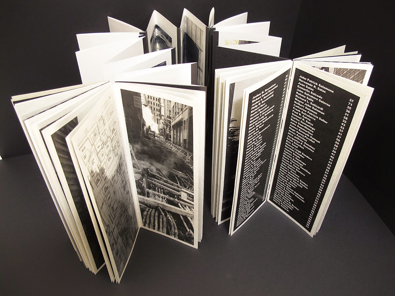 Hecatombe 9-11: Artist's Book at the National 9-11 Memorial Museum