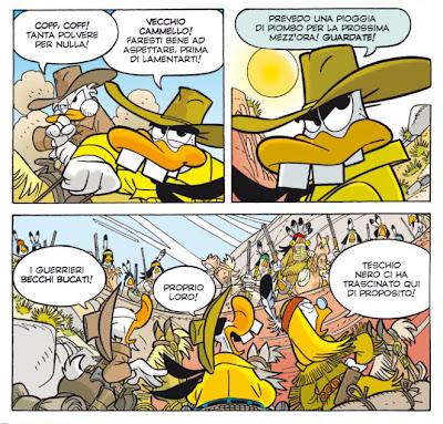 Topolino 2964 parodia Tex