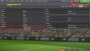 FM Preferences Match odds format