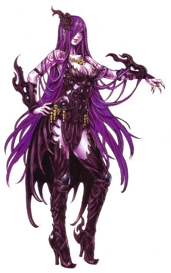 Desktop wallpapers anime female warrior girls set 7 - Hot demon women ...