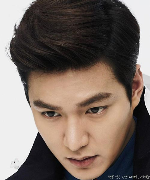 Lee Min Ho short haircut new hairstyle